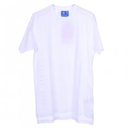 WHITE COTTON BASIC T SHIRT