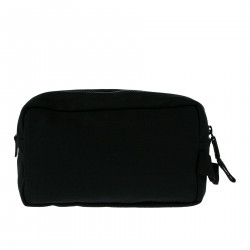 BLACK TROUSSE WITH GOLD LOGO