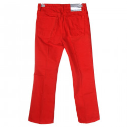 JEANS ROSSO A CAMPANA
