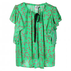 NYDIA GREEN BLOUSE