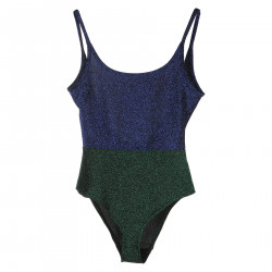 BLUE AND GREEN LUREX BODY