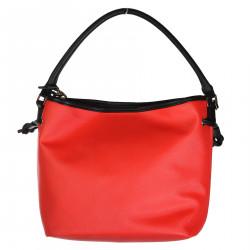GRAFIC RED BUCKET BAG