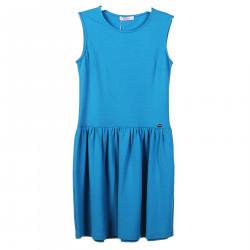 LIGHT BLUE SLEEVELES DRESS
