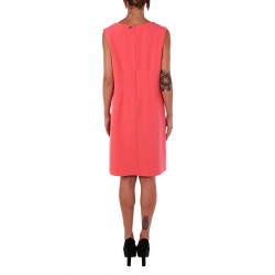 PINK DRESS WITH STONES INSERT