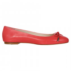 CORAL SOFT LEATHER FLAT