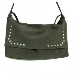 LUREX GREY SHOULDER BAG