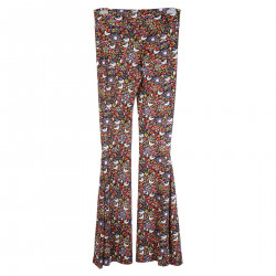 MAMMAMIA FLORAL AND BIRDS FANTASY LEGGINGS