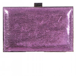 PINK SHOULDERBAG WITH APPLICATIONS