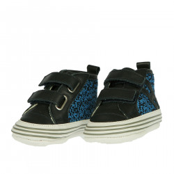 BLUE AND BLACK SNEAKER