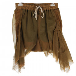 TOBACCO TULLE PANT SKIRT