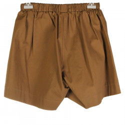TOBACCO VISCOSE SHORTS