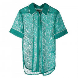 GREEN EMBROIDERED SHIRT