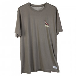 T SHIRT GRIGIA CON STAMPE