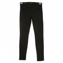 SKINNY LEG LOW RISE BLACK JEANS