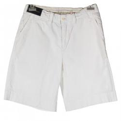 WHITE BERMUDA SHORT