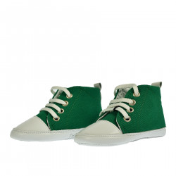 GREEN AND WHITE SNEAKER