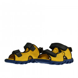 YELLOW SANDAL WITH STRAP