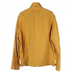 YELLOW JACKET WITH FRONT POCKETS