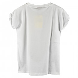 T SHIRT CON STAMPA VOLPE FRONTALE
