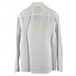 WHITE CLASSIC COTTON SHIRT