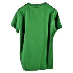 GREEN PRINTED T SHIRT