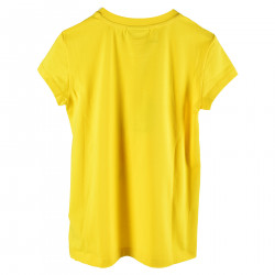 T SHIRT GIALLA CON STAMPA