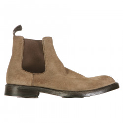 STIVALETTO BEIGE IN PELLE
