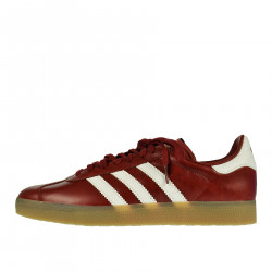 RED LEATHER SNEAKER GAZZELLE