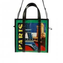 PARIS FANTASY GREEN SHOULDER BAG