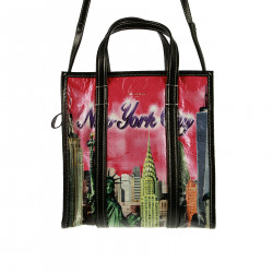 PINK NEW YORK CITY SHOULDER BAG