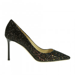ROMY GLITTER DECOLLETE