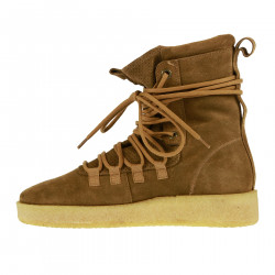 BROWN SUEDE DUSK BOOT