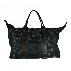 BLACK CAMOUFLAGE BAG