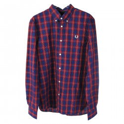 RED AND BLUE CHECKED SHIRT