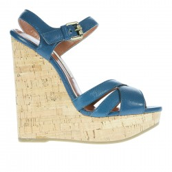 LEATHER WEDGE