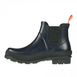 NAVY CHARLIE ANKLE BOOT