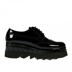 BLACK PATENT LEATHER SHOE