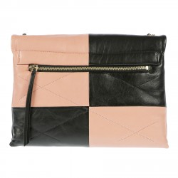 BORSA MEDIUM SUGAR NERA ROSA