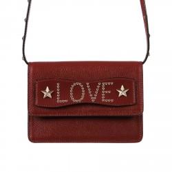 BORDEAUX LOVE CLUTCH BAG