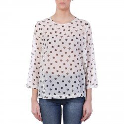 JOI BLOUSE WITH FLORAL DESIGN