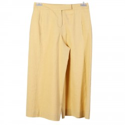LOOSE YELLOW ANKLE PANTS