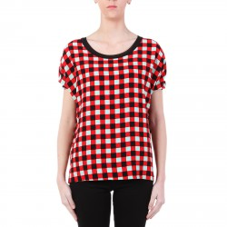 CHECKED SEA BLOUSE