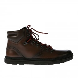 RED LACED TREKS BOOTS