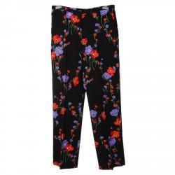 FLOWERS PRINTED PANTS