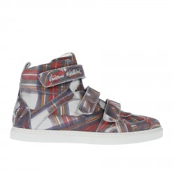 BASKET SHOES STAMPATE CON VELCRO
