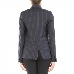 PINSTRIPED BLAZER