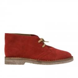 RED SUEDE DESERT BOOT