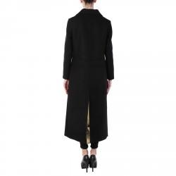 BLACK WOOLED COAT