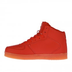 RED LEATHER SNEAKER
