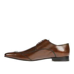 BROWN WINGTIP LACE UP SHOE